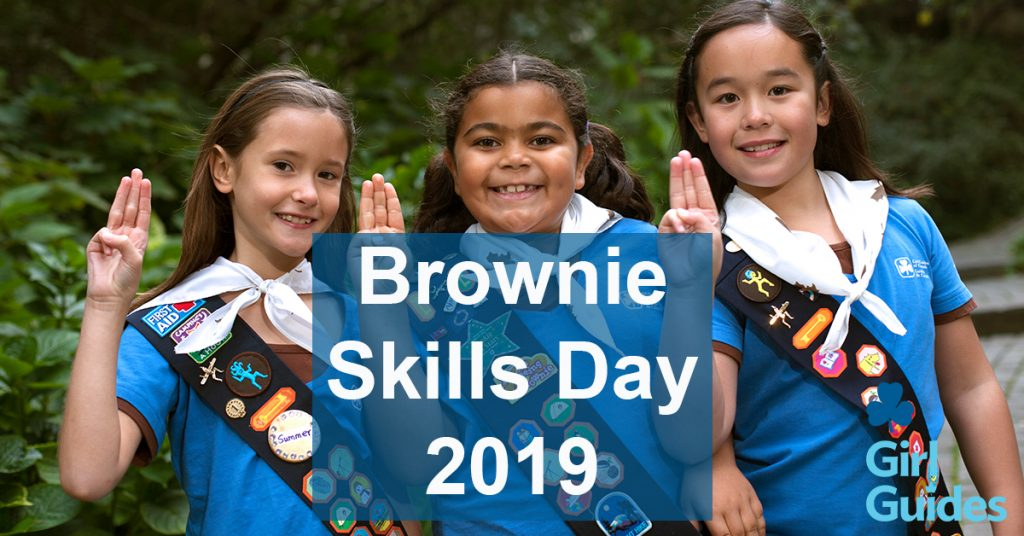 Brownies Skills day is Saturday, January 26, 2019.