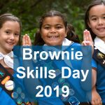 Brownies Skills day is Saturday, January 26, 2019.