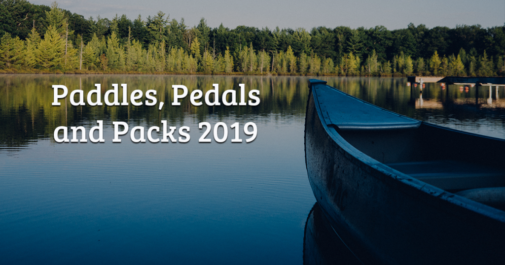 Paddles, Pedals and Packs