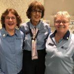 Sheralynne Muirhead, Cheryl Geissler, Sheila Arnal and Pat Miles