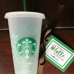 Thanks a Latte Starbucks Cold Cup